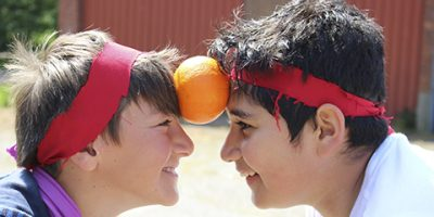 To drenge, der dyster i ninjakamp