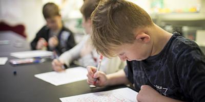 Barn der laver lektier