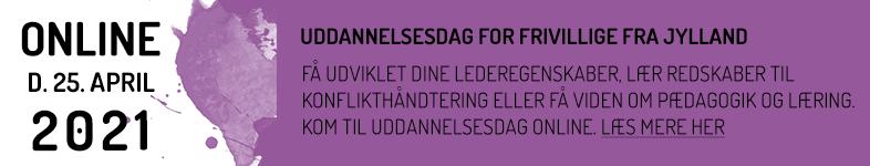 Banner for frivillige i Jylland