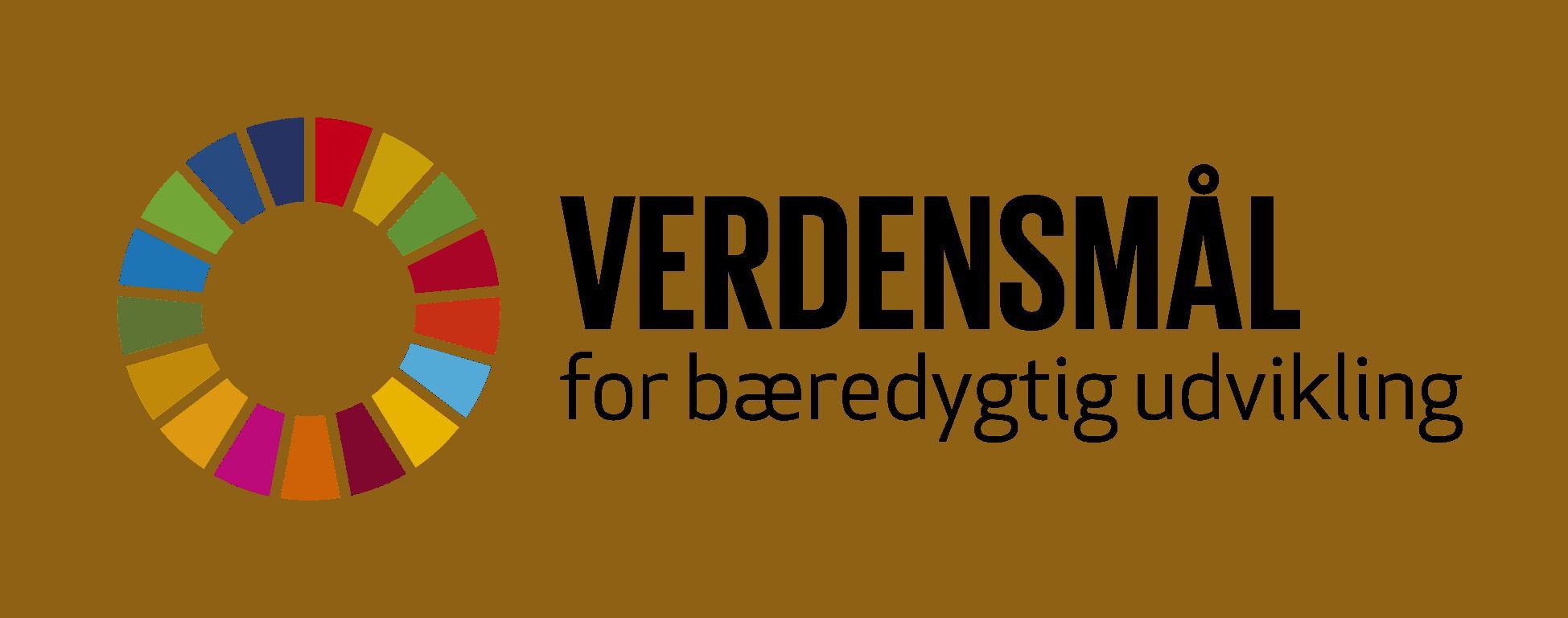 Logo for verdensmål
